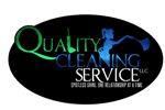 Quality Cleaning Service Logo